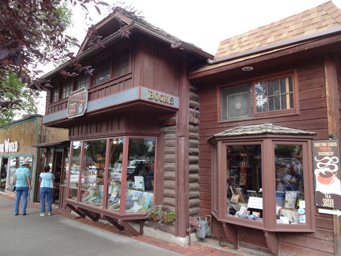 Macdonald Book Shop in Estes Park Co